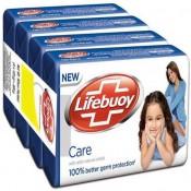Lifebuoy care Soap 125gm × 4